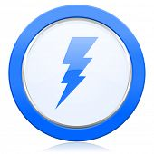 stock photo of bolt  - bolt icon flash sign  - JPG