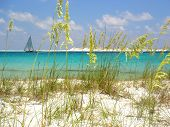 pic of sail-boats  - Taken from the beautiful Emerald Coast in Destin - JPG