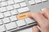 stock photo of keypad  - Monetize on - JPG