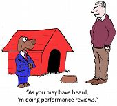picture of average man  - Cartoon of businessman dog - JPG