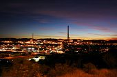 stock photo of gold mine  - Mining city Mount Isa in Queensland Australia - JPG