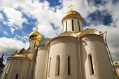 Постер, плакат: Trinity cathedral in the Trinity Lavra of St Sergius