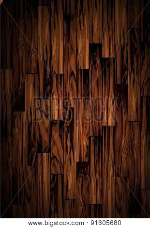 Vector Wood Background with cartoon like look !
