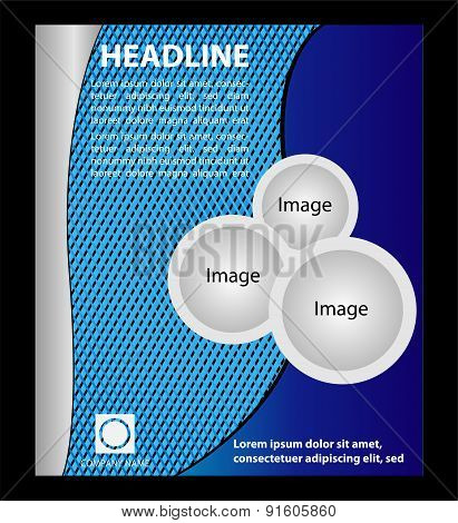 Vector Flyer, Magazine Cover & Poster Template