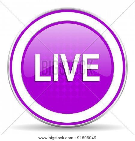 live violet icon