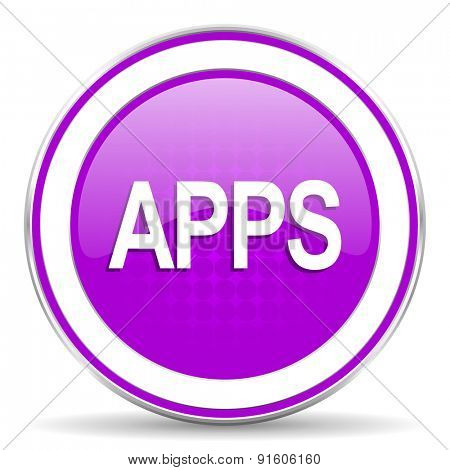 apps violet icon