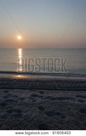 Sunshine at Dawn -portrait orientation
