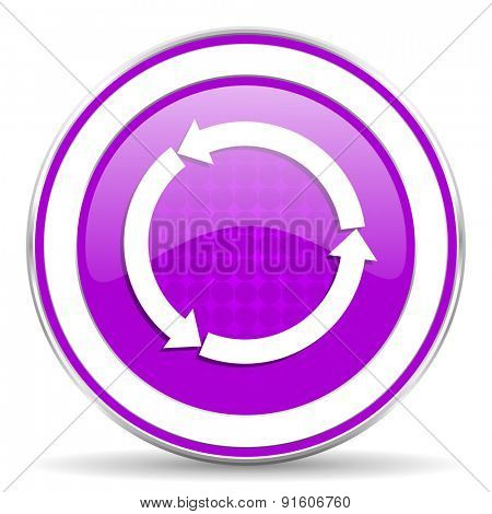 refresh violet icon reload violet icon
