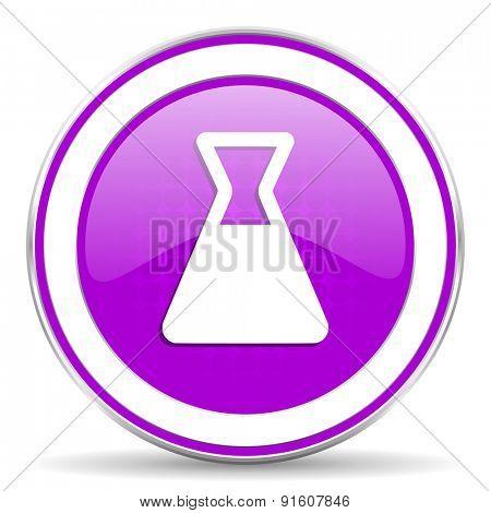 laboratory violet icon