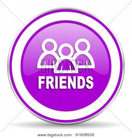 friends violet icon