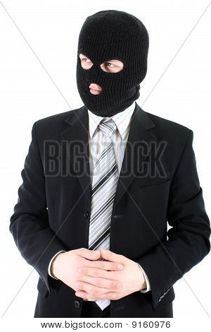 Businessman In Mask