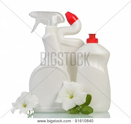 Cleaning products and flower