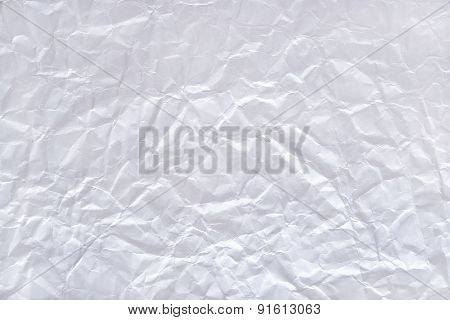 White Crushed Paper