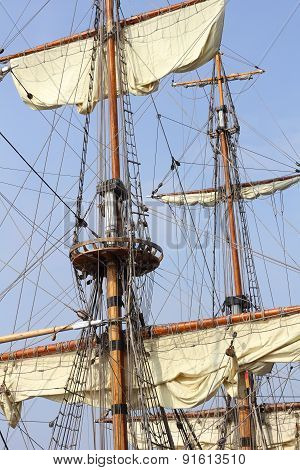 Rigging Of A Tall Ship