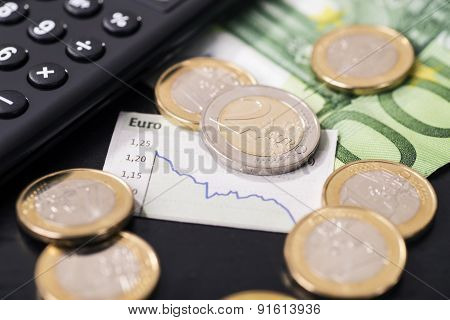 Low Rate Of The Euro