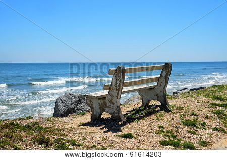 Bench Chair at Beach