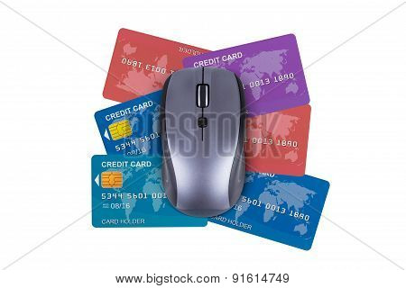 Credit Cards With Mouse
