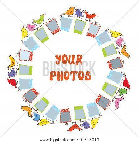 Photo Frame Composition - Funny Design