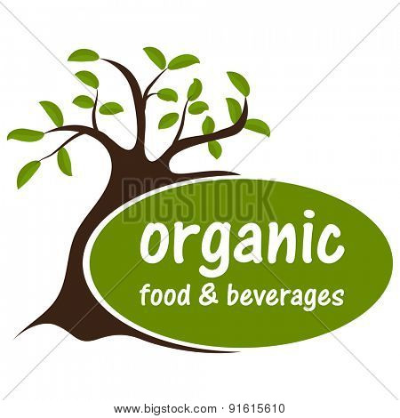 An image of organic food and beverages background.