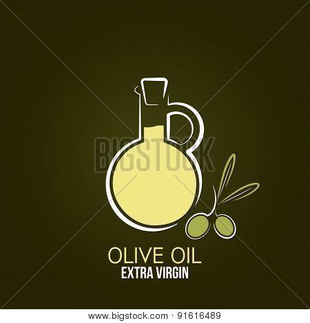 olive oil design menu background