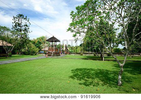 Taman Ayun Temple In Bali, Indonesia