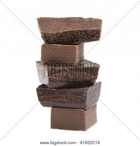 Column Of Chocolate