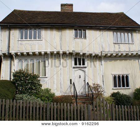 Timber-framed house in Lavenham