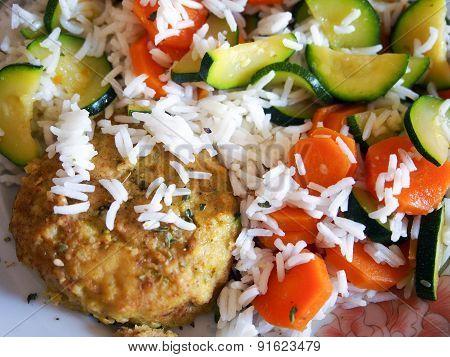 A vegan homemade dish