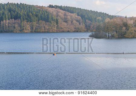 Dam Reservoir, Concrete Dam,