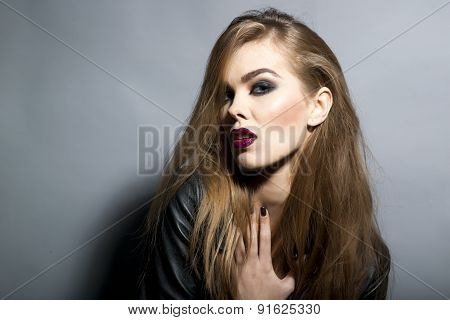 Perilous Seductive Young Blonde Woman
