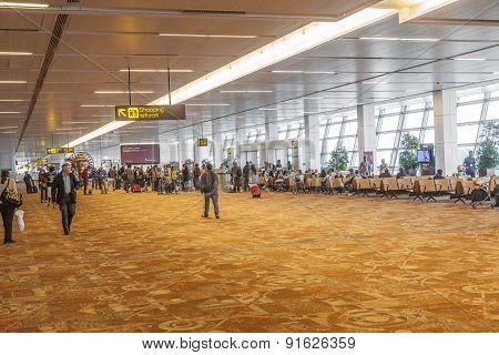 Airport Hall In Delhi