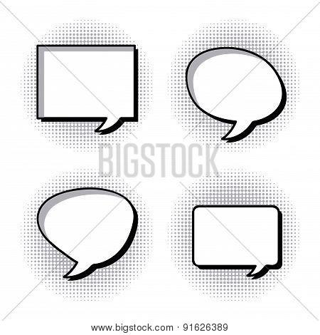 Bubbles design over white background vector illustration