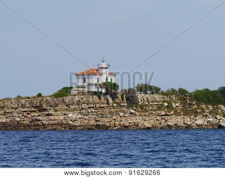 The Plocica lighthouse