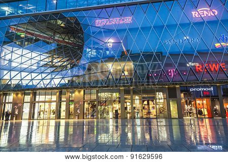 People Go Shopping At The Zeil