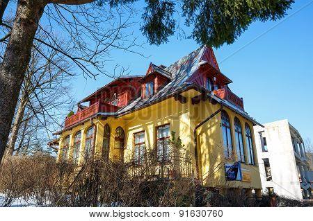 Villa Called Lutnia In Zakopane