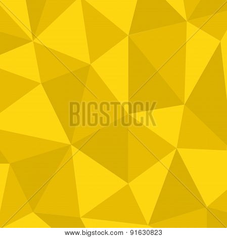 Vector modern polygonal space background.