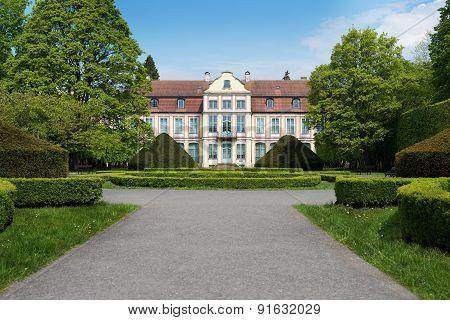 Gdansk Oliwa castle