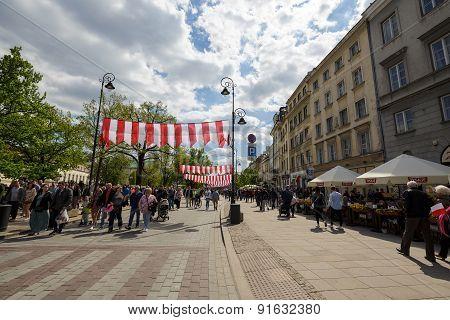 Trakt Krolewski Street, Warsaw
