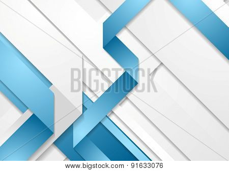 Bright tech corporate concept background. Vector design