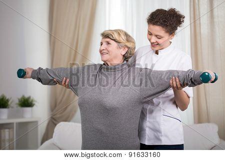 Active Older Lady