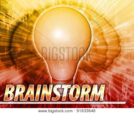 Abstract background digital collage concept illustration brainstorm creative ideas
