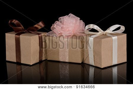 Present gift boxes