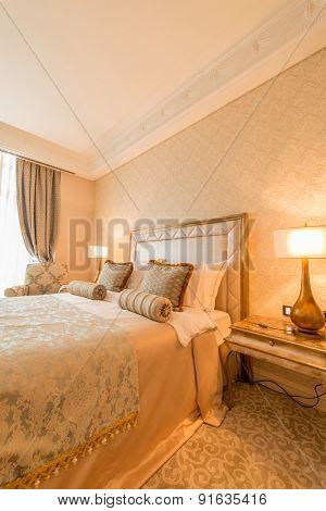 Bedroom room in modern style