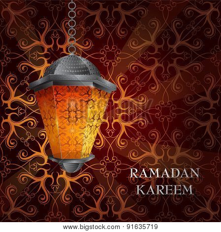 Ramadan greeting card design