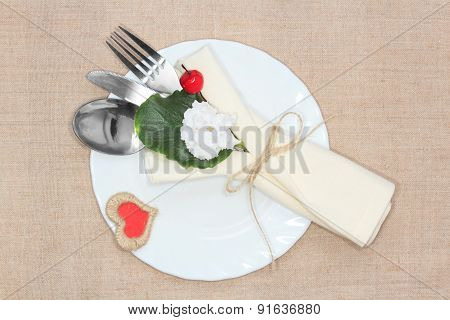 Valentine's Day table