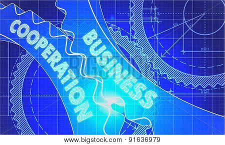 Business Cooperation on Blueprint of Cogs.