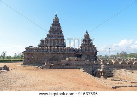 Shore temple in Mamallapuram, Tamil Nadu, India