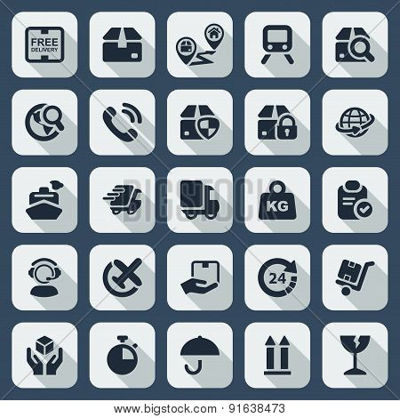 Flat Iconset Logistics