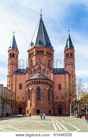 Beautiful Dome In Mainz