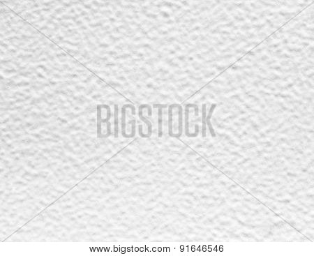 White painted mortar wall texture.